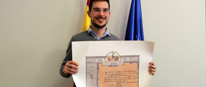 Congratulations to David Albuquerque, the recipient of two awards in Spain